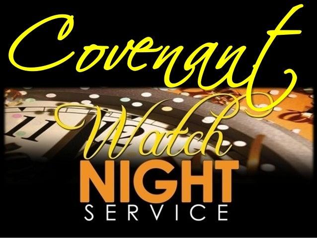Covenant watchnight service  31 dec12 jer 31 31-34