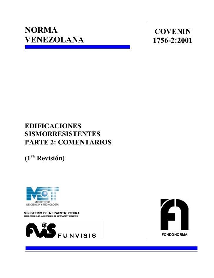 Covenin (c) 1756 2001