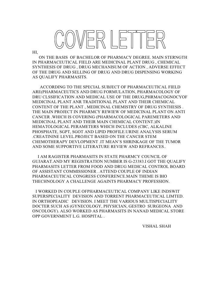 Phd chemistry cover letter