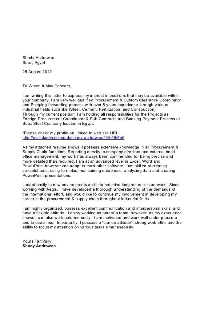 application letter for customs broker - Fieldstation.co