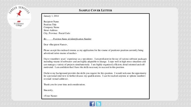 how to stand out in a cover letter