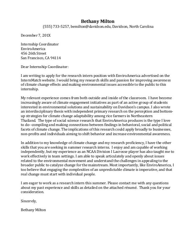 cover letter helping others