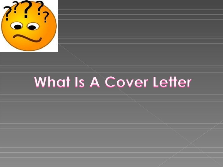 Cover lettters