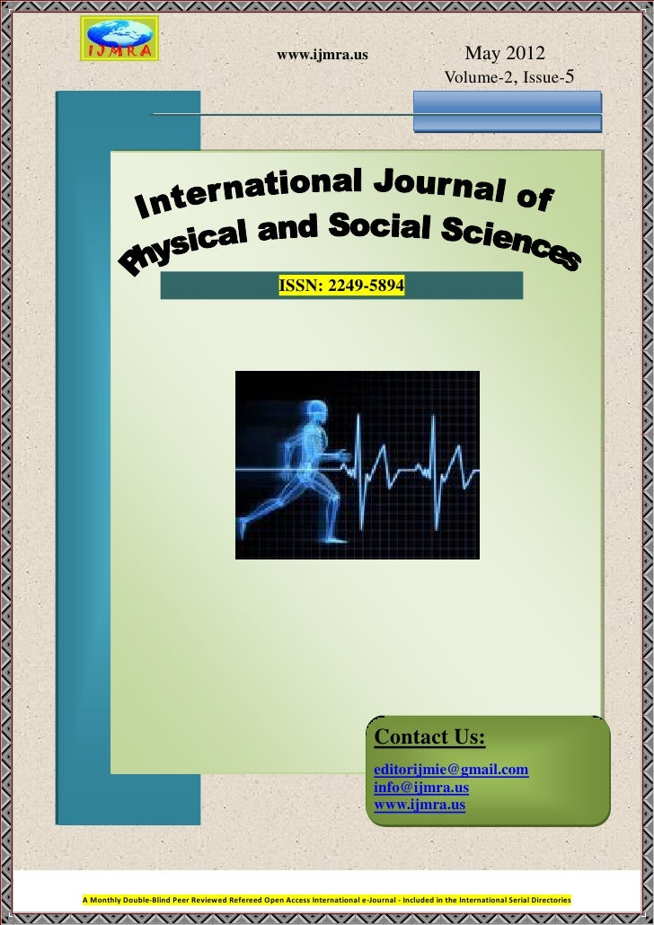 Cover page ijpss_may_2012