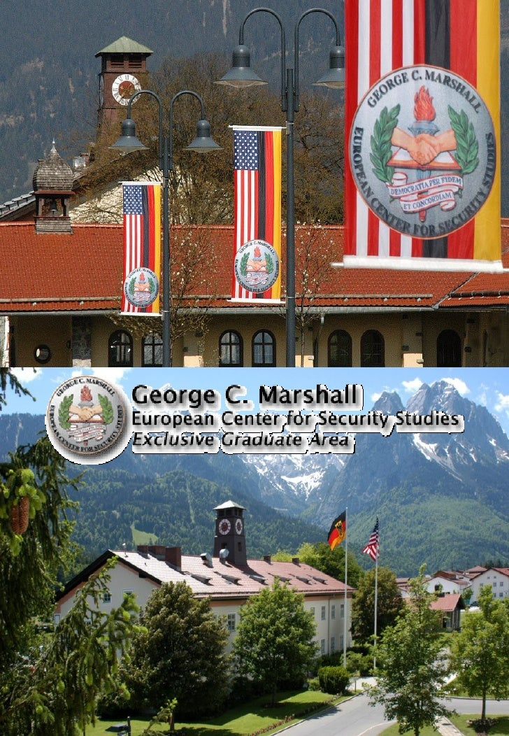 Cover Pages - George C. Marshall European Center for Security Studies