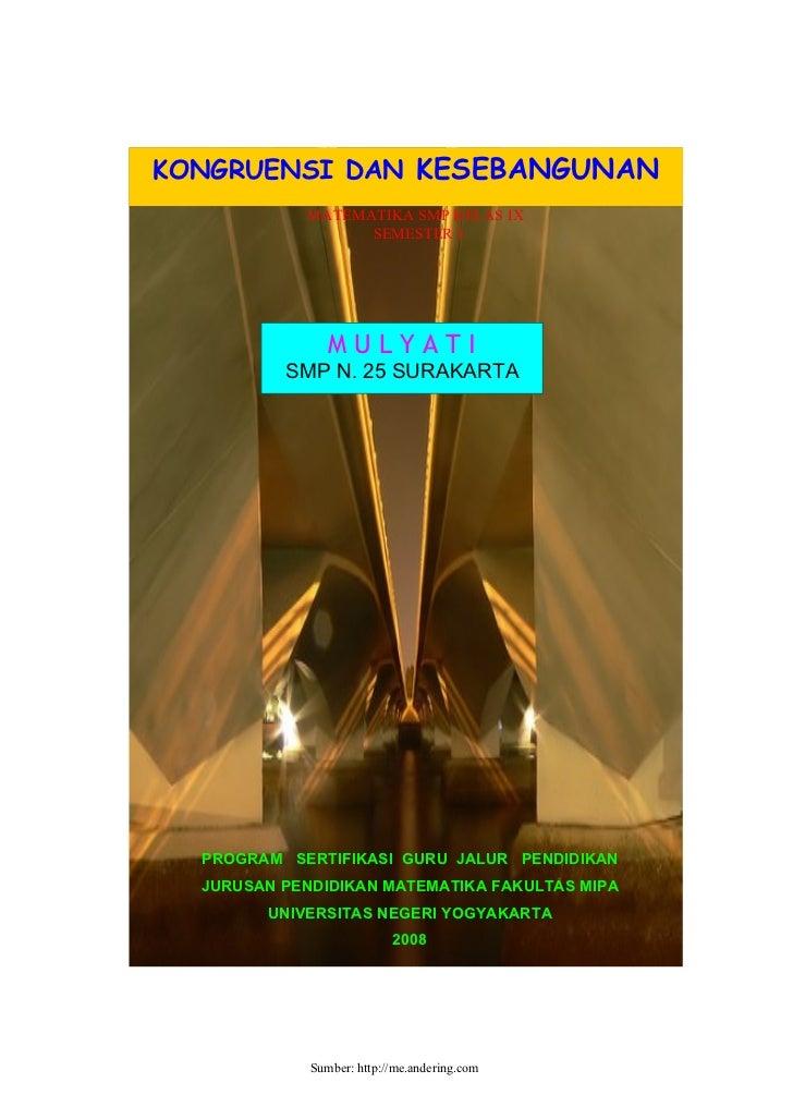 Cover Sebangun Kongruen-Mulyati
