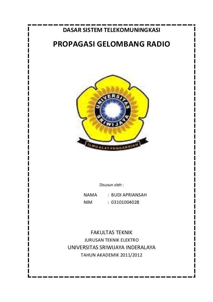 Cover Tugas Radio Budi