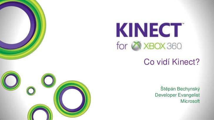 NMI12: Štěpán Bechyňský - Co vidí Kinect?