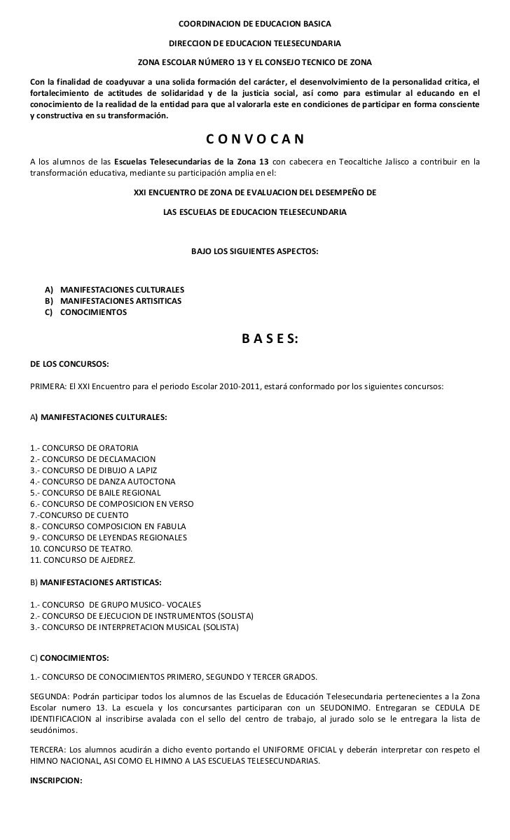 COORDINACION DE EDUCACION BASICA<br />DIRECCION DE EDUCACION TELESECUNDARIA<br />ZONA ESCOLAR NÚMERO 13 Y EL CONSEJO TECNI...