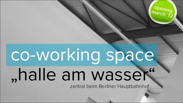 openi                                           march  ng                                                  ´12co-working s...