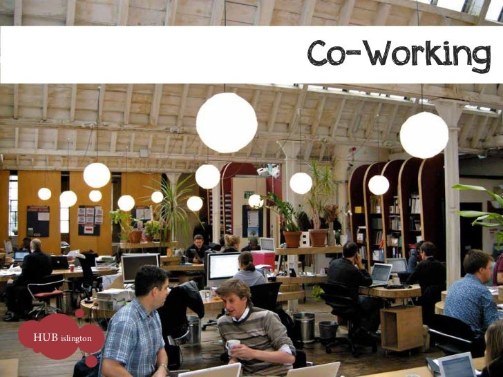 Co-WorkingHUB islington