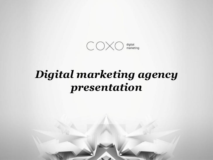 Digital marketing agency      presentation
