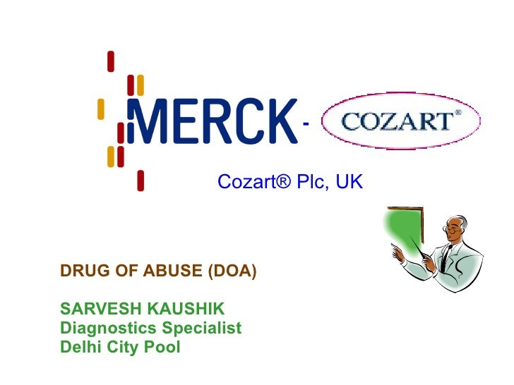 Cozart  Drug Of Abuse