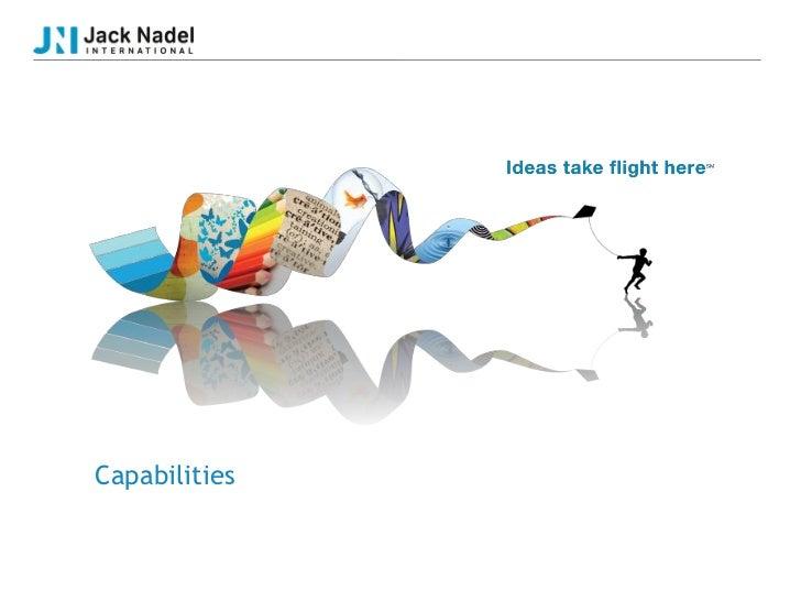 Capabilities   OurCapabilities