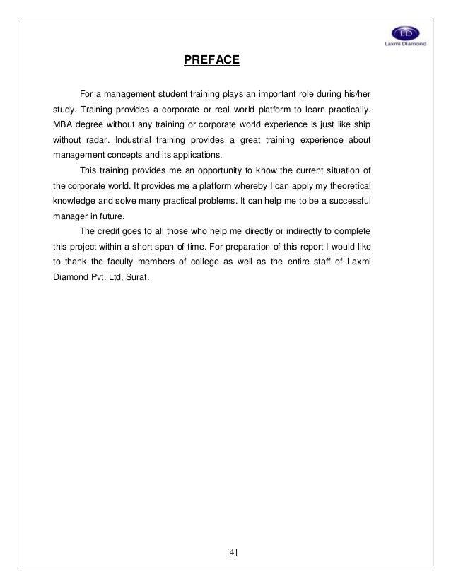 Essay on Prospectus Example