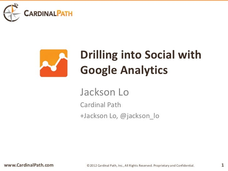 Drilling into Social with Google Analytics