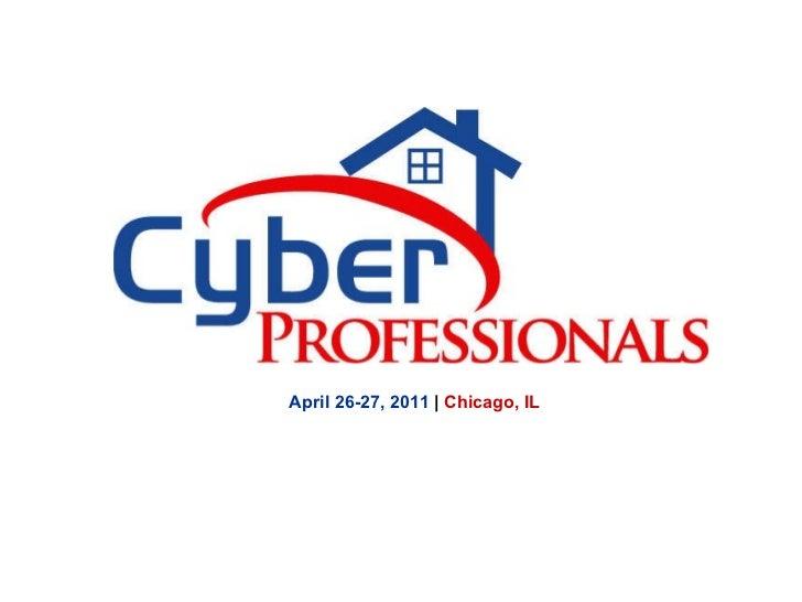 April 26-27, 2011  |  Chicago, IL