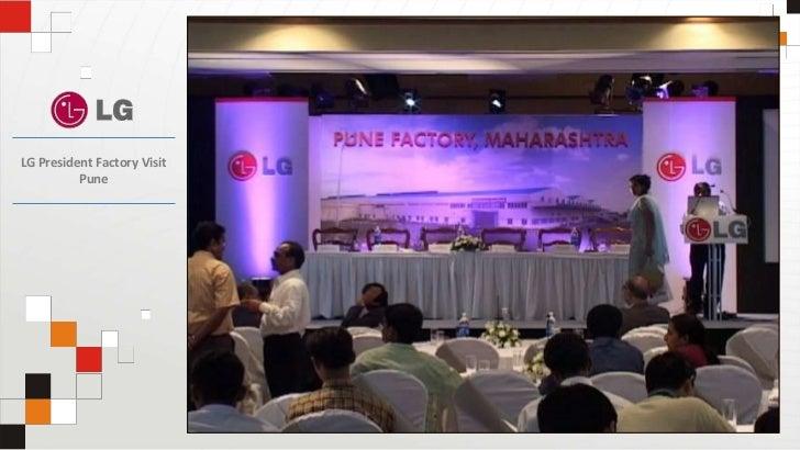 LG President Factory VisitPune<br />