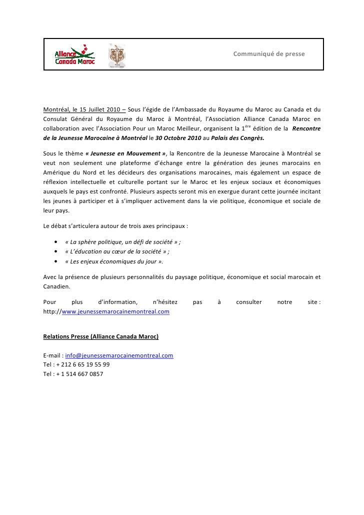 Site de rencontre marocain a montreal