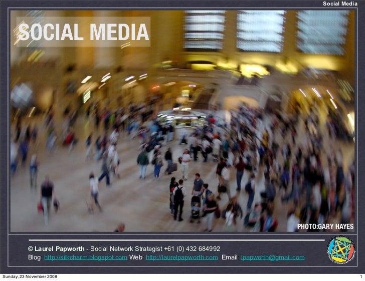 Social Media           SOCIAL MEDIA                                                                                       ...