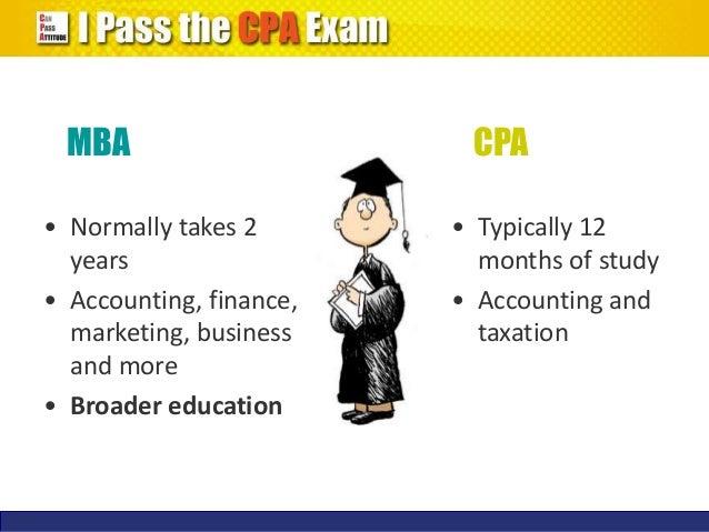 CPA vs. MBA?