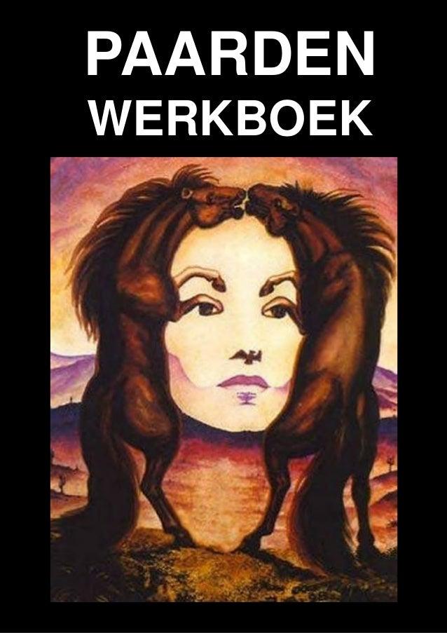 Paarden-werkboek, Het Chinese jaar van het paard 31 januari 2014 - 18 februari 2015  PAARDEN WERKBOEK  Schoolvoorstellinge...