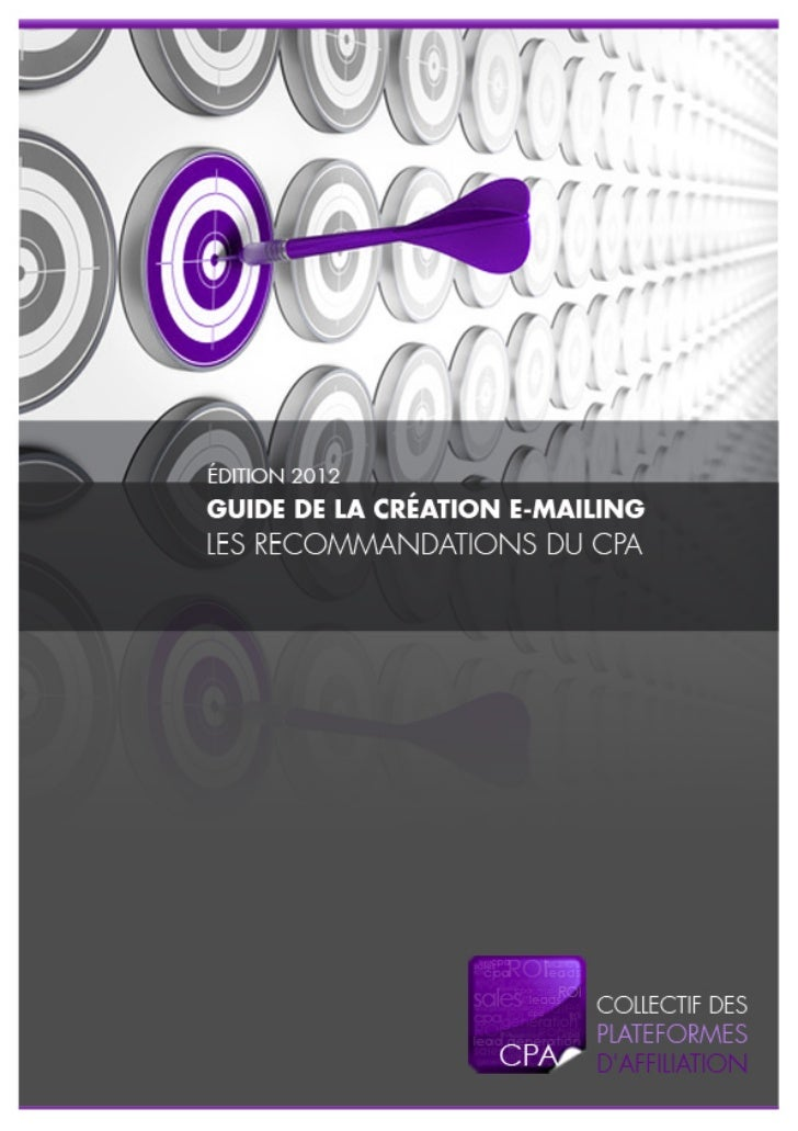 Cpa Emailing Annonceurs Recommandations 2012