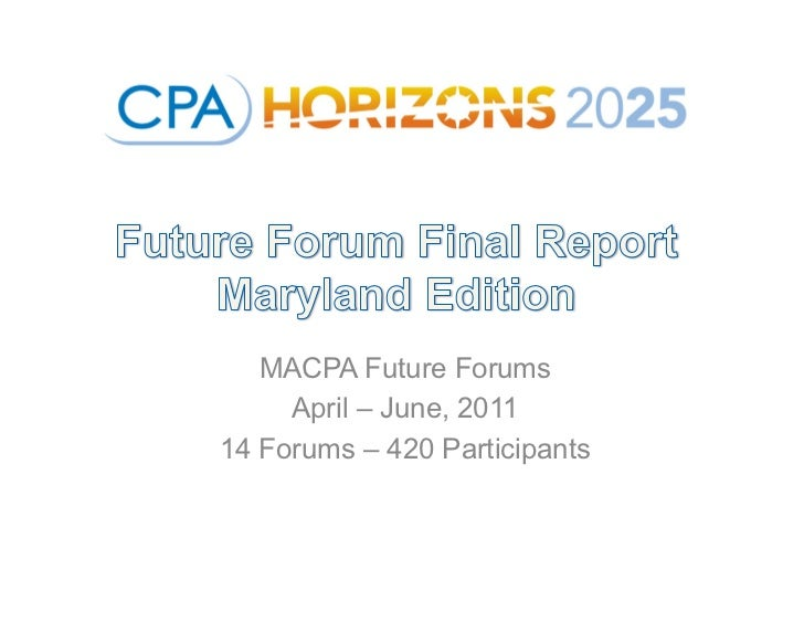 CPA Horizons 2025 - Top Trends to Watch - Maryland Edition