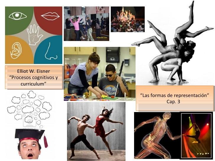 """Elliot W. Eisner""""Procesos cognitivos y     curriculum""""                         """"Las formas de representación""""             ..."""