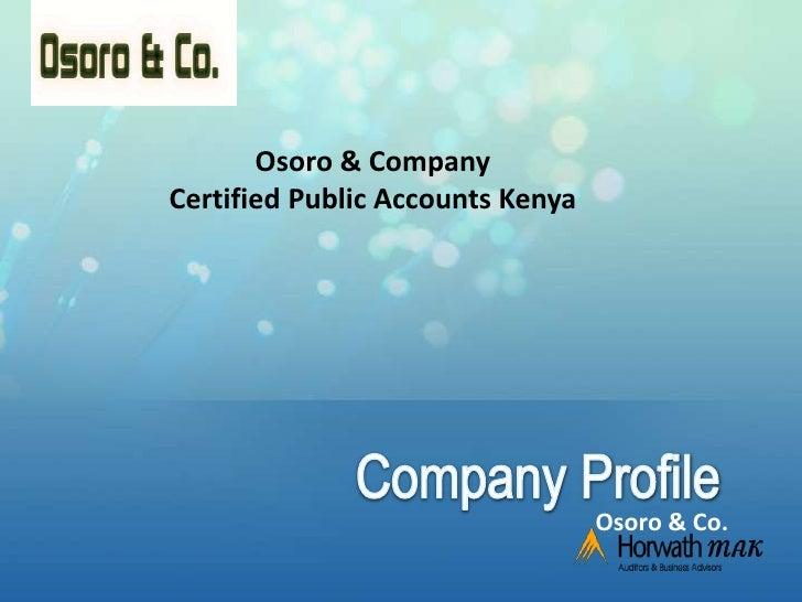 CPAs o&co.profile