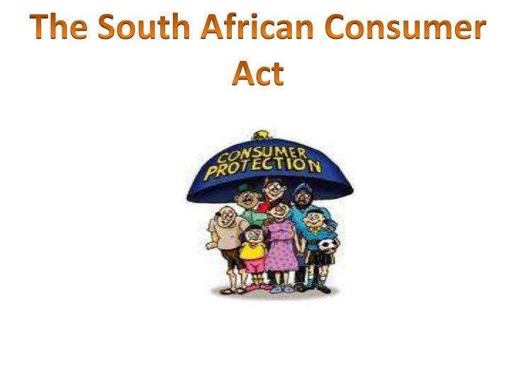 The South African Consumer Act<br />