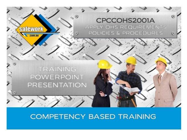 WHS presentation v3 (CPCCOHS2001A)