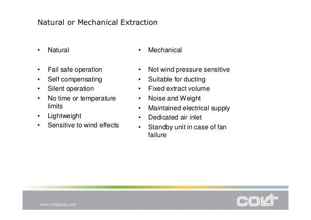 Cpd Presentation General Principles Of Smoke Control