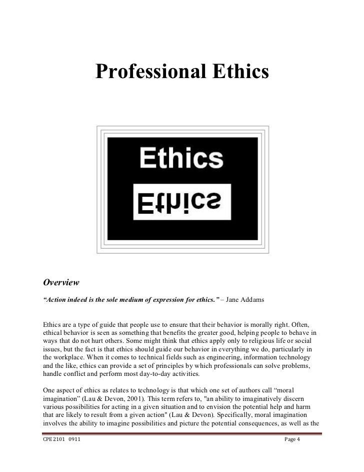 Ethics dating
