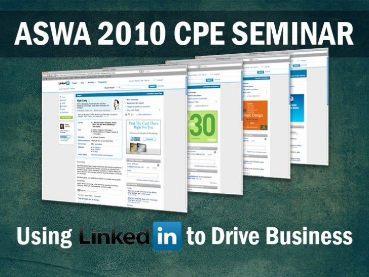 Using LinkedIn to Drive Leads and Grow Business