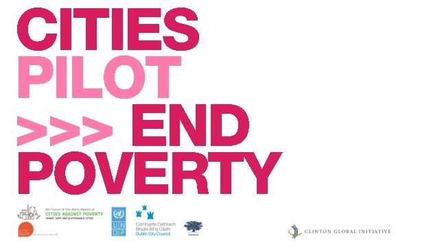 Cities Pilot to End Poverty