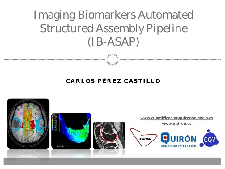Imaging Biomarkers Automated Structured Assembly Pipeline          (IB-ASAP)     CARLOS PÉREZ CASTILLO                    ...