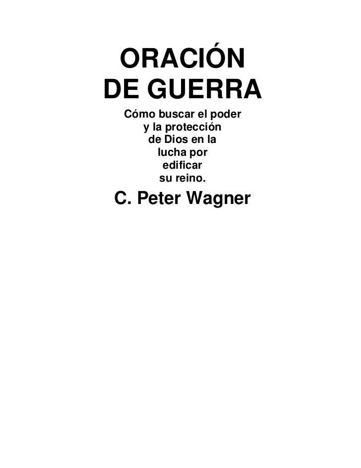 C peter wagner_-_1992_oracion_de_guerra