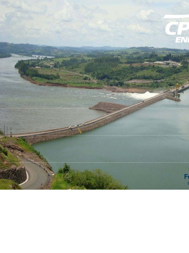 Foz do Chapecó HPP Overview: dam | reservoir