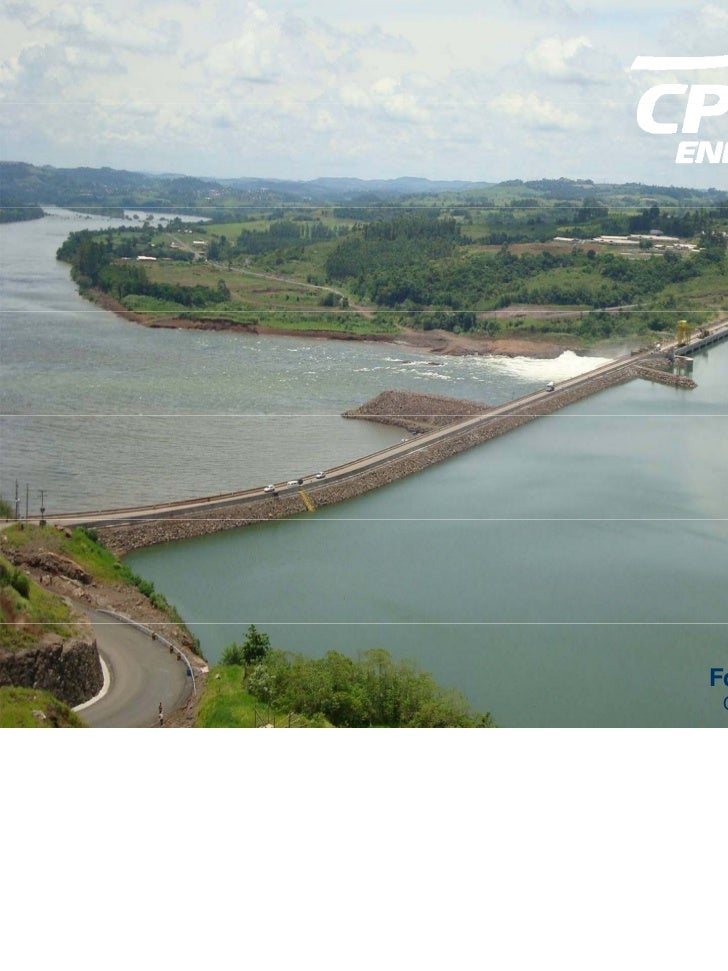 Foz do Chapecó HPP Overview: dam | reservoir