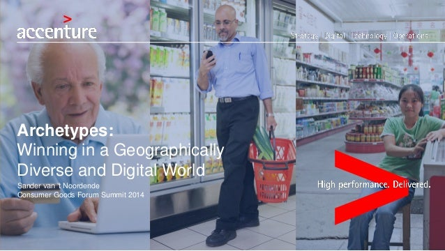Archetype Strategy for Consumer Packaged Goods companies