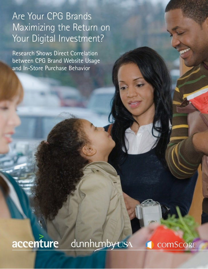 Accenture, Comscore, Dunhumby CPG & Digital White paper