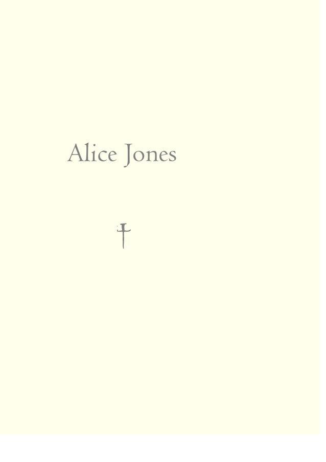 Alice Jones †