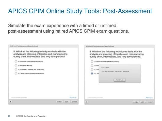 Prepare for the CSCP Exam - APICS
