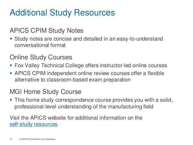 APICS CPIM study notes ECO module - PDF Free Download