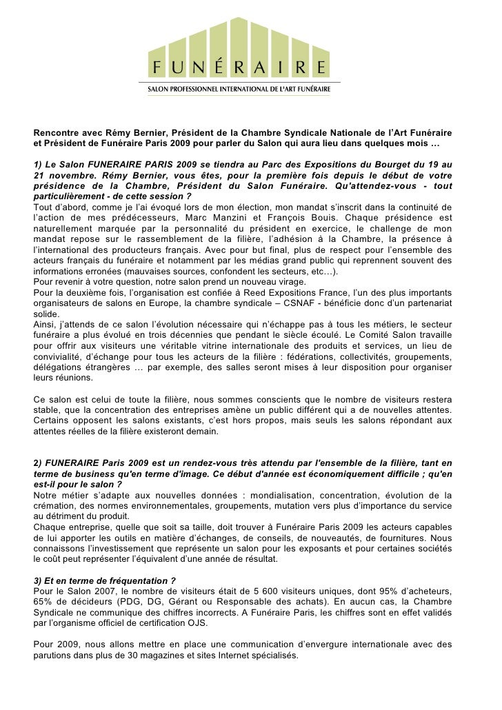 Interview Rémy Bernier