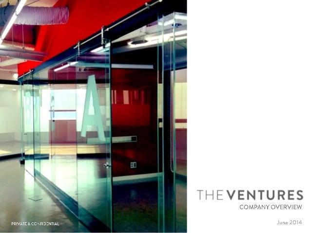 The ventures(더벤처스) 소개자료