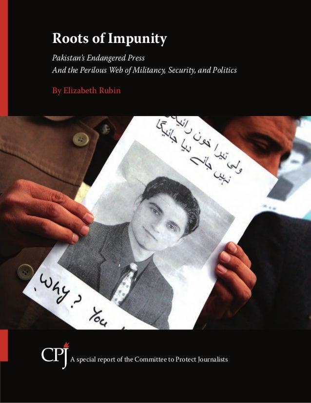 CPJ - Roots Of Impunity ..