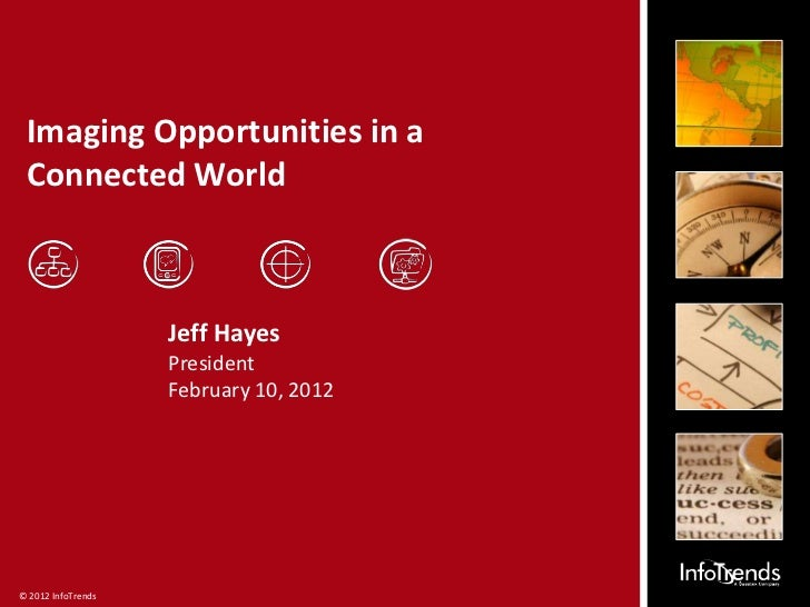 Imaging Opportunities in a Connected World                    Jeff Hayes                    President                    F...
