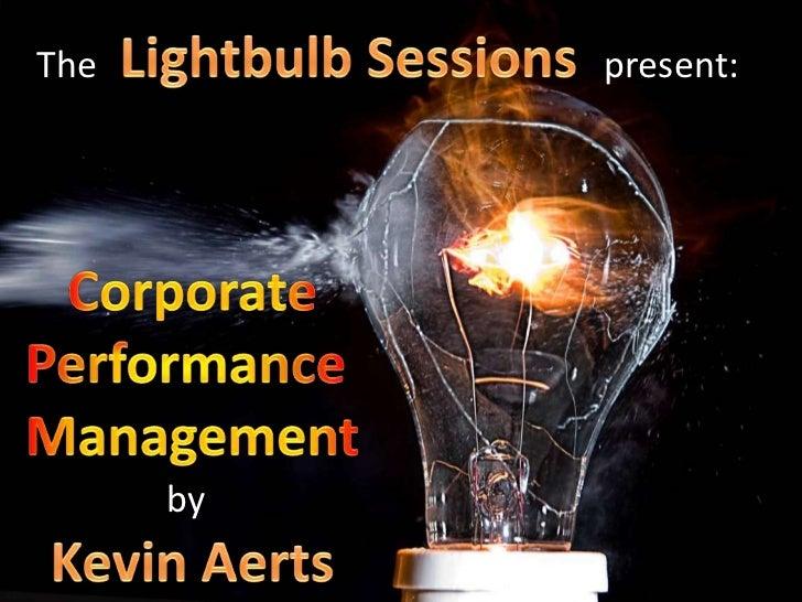 Inleiding tot Performance Management
